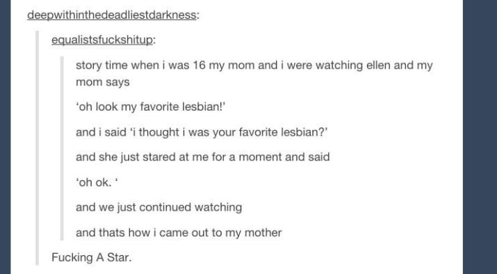 22 Of The Shortest Coming Out Stories You'll Ever Read