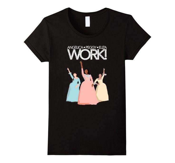 Fan of the Hamilton Musical T shirt, Schuyler sisters ...
