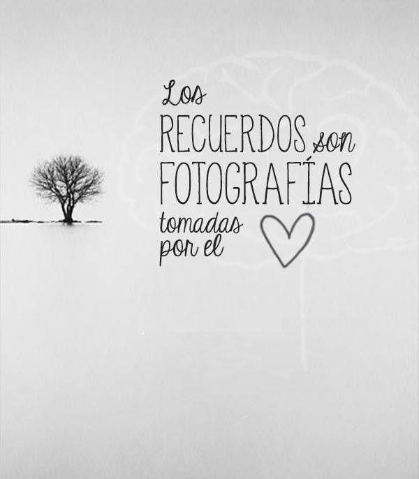 y frases de recuerdos | 1001 Frases de la Vida | Love ...