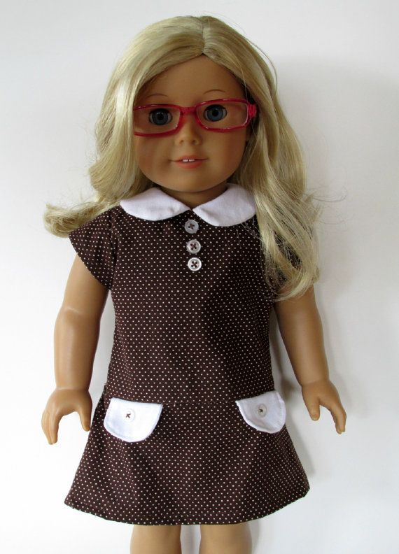American Girl Doll Clothes  Brown and by EverythingNice4Dolls, $18.99
