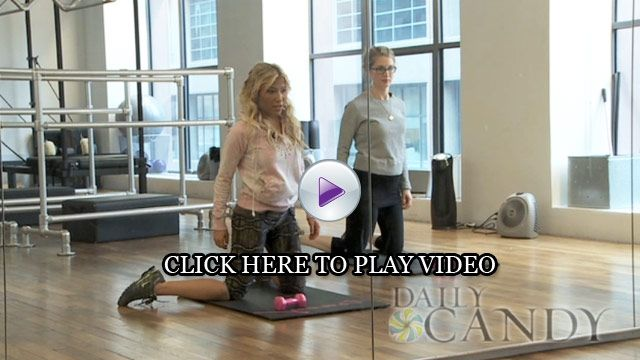 How to Tone Outer Thighs - Tracy Anderson Video | Everywhere | Everywhere - DailyCandy