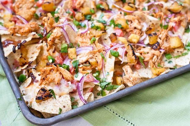 BBQ Chicken & Grilled Pineapple Nachos by foodiebride, via Flickr