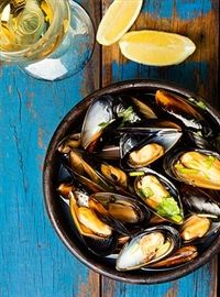 Weigh-Less Online - Mussels In White Wine