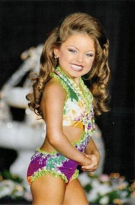 Little Girl Pageant Swimwear | email this to a friend rate and comment on this page