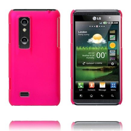 Hard Shell (Hot Pink) LG Optimus 3D Cover
