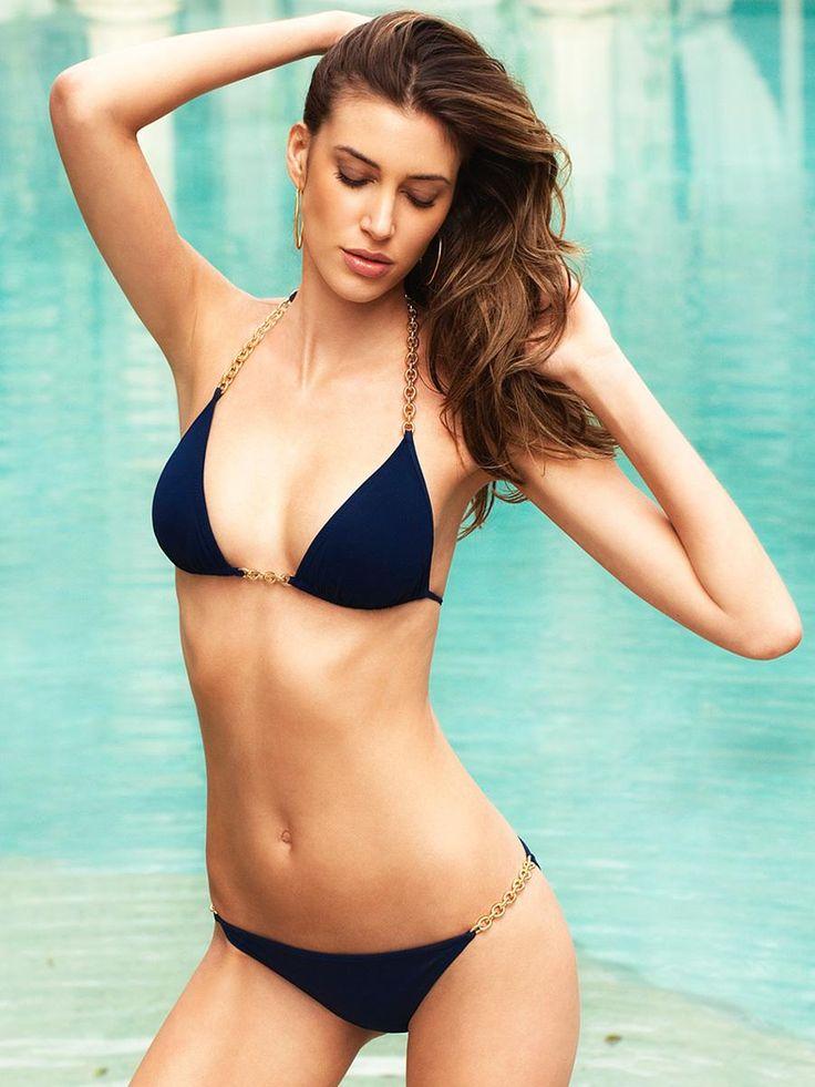 Elizabeth Hurley Chloe Bikini as seen on Rosie Huntington-Whiteley