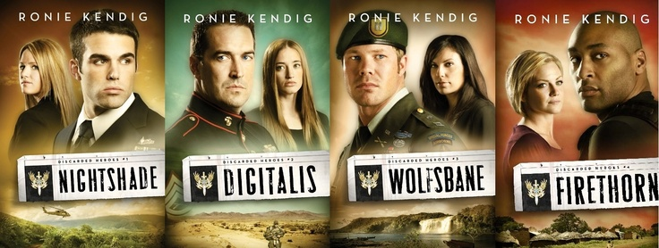 The Discarded Heroes by Ronie Kendig. They will be movies one day, oh yes, and I can hardly wait. I love Ronie's writing!