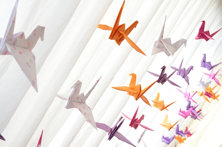 Origami Cranes IV