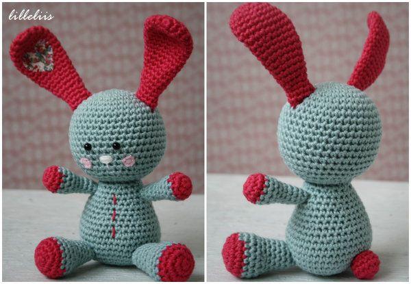 Funny bunny – gratis amigurumi patroon (Dutch) patroon Lilleliis