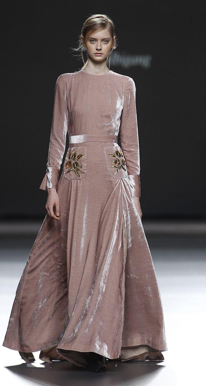Lazo Caprichoso Blog de moda Moda Low Cost II Vestido de terciopelo rosa Teresa Helbig (2)
