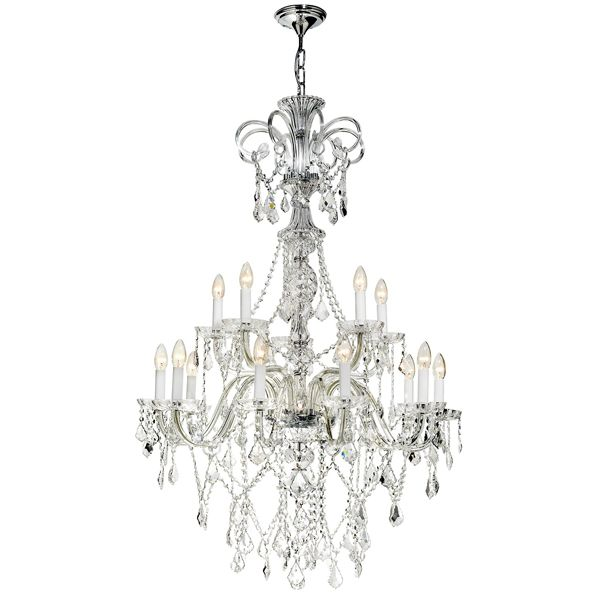 24 best radiant chandeliers images on pinterest crystal radiant jp095 rory 15 light chandelier bohemian crystal body with metal trim aloadofball Image collections