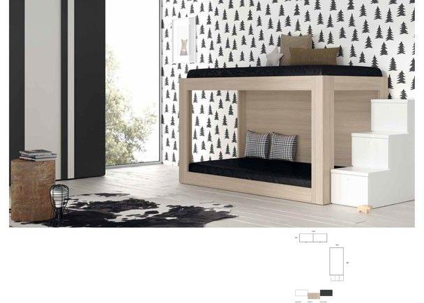 Dormitorio infantil con Litera 079-202014