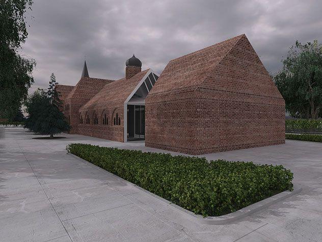 PC3 I blaq architects Chapel Koszalin, Poland