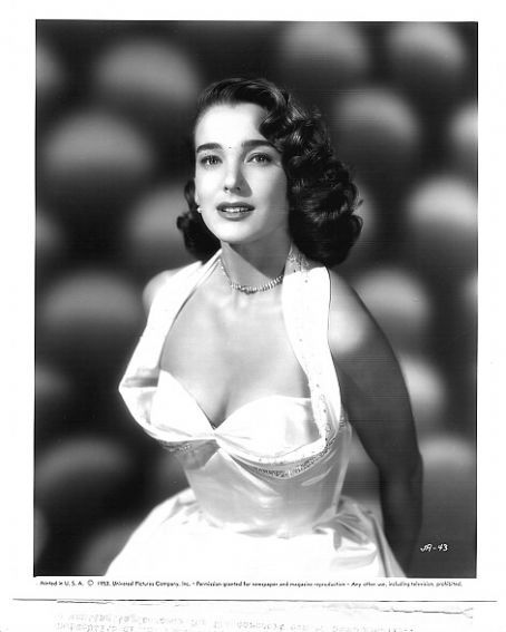 """Julie Adams starred in """"The Little White Frock"""" Alfred Hitchcock Presents 1958 and """"The Creature from the Black Lagoon"""""""
