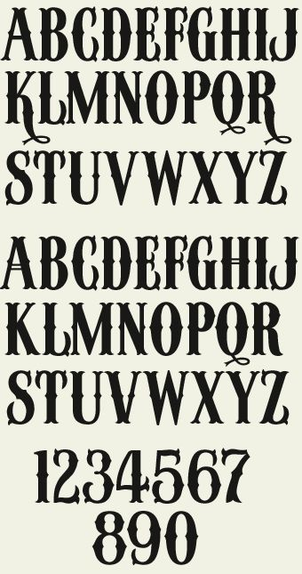 Letterhead Fonts / LHF Winchester 73 / Western Movie Fonts