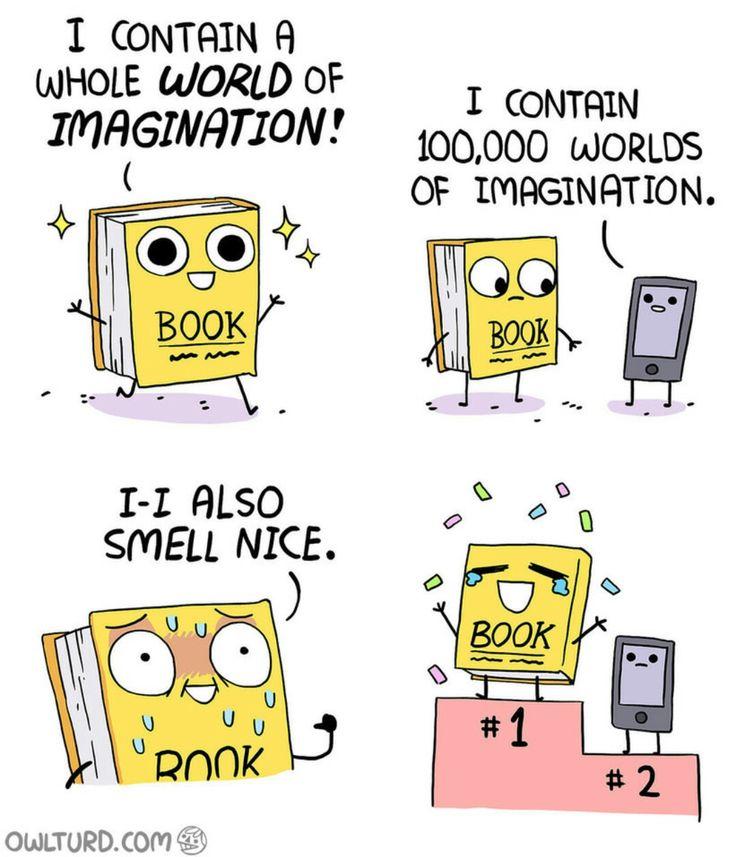 funny humor cartoons memes books quotes nerd comics bookworm owlturd being quote read