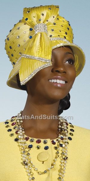 Donna Vinci Couture Church Hat H2100