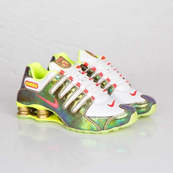 Beautiful and fun Nike Shox shoes are perfect to dance lessons!