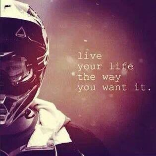 Live for yourself...