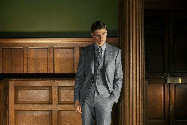 tendencias en la pasarela: El traje de chaqueta, la elegancia masculina.