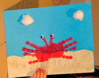 Art for kids ocean | Second Chance to Dream: 15 Kids Beach Crafts
