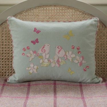 Bloomsbury Blossom Cushion