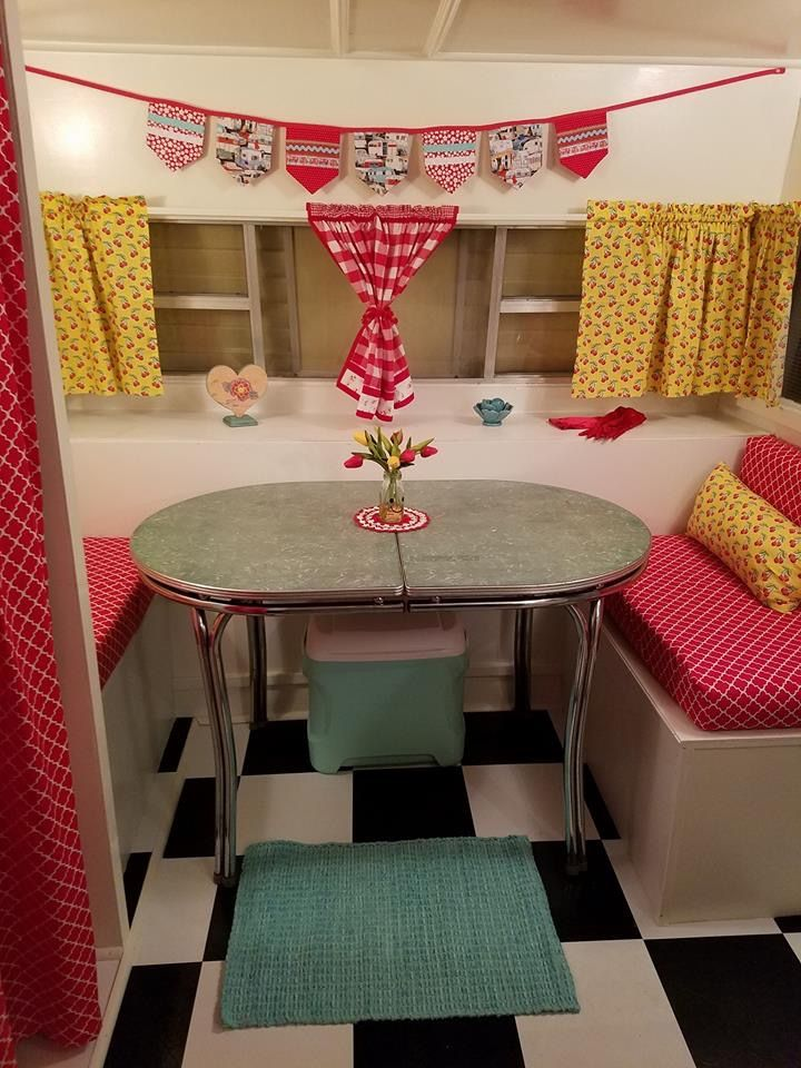 17 Best Images About Vintage Camper Decor On Pinterest