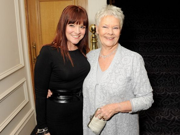 Dame Judi Dench and daughter Finty Williams attending  The 58th London Evening Standard Theatre Awards In Association With Burberry