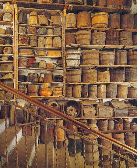 Ingresso, Museo Ettore Guatelli, Ozzano Taro Collecchio, Parma.
