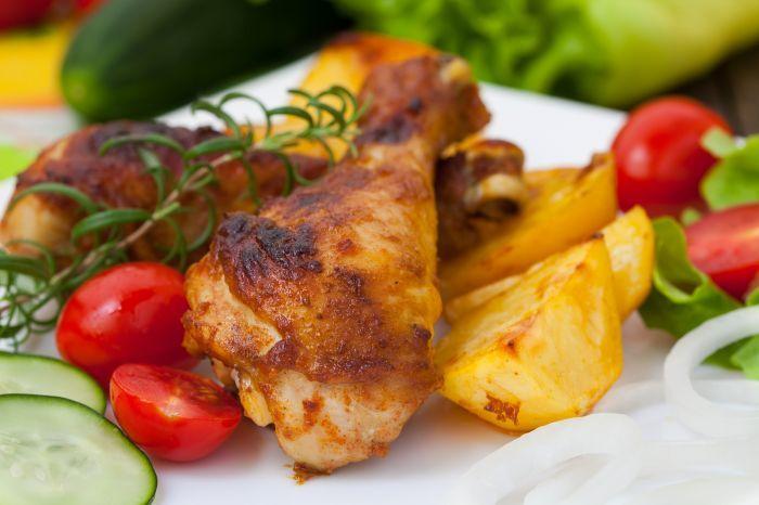 Aromatyczny kurczak w sosie Cabernet  http://www.wino-blog.pl