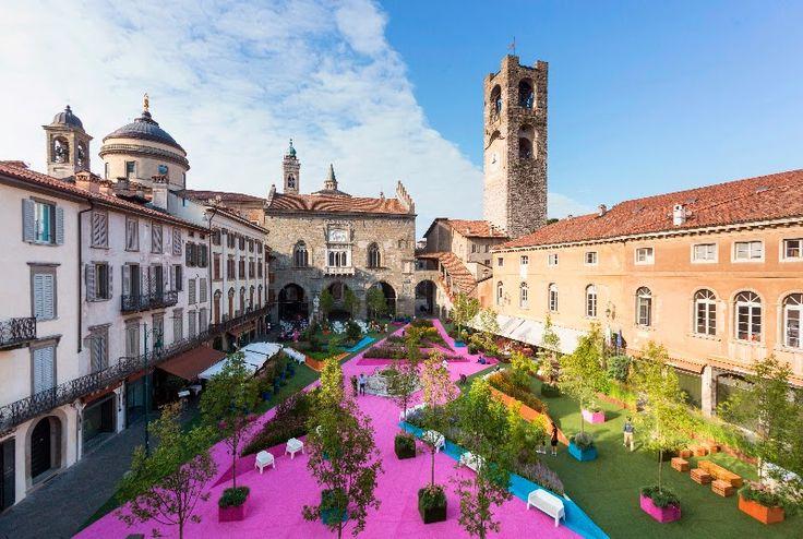 """""""Aperitivi del Paesaggio"""" un viaggio nei sapori d'Italia fino il 18 Settembre Bergamo"""