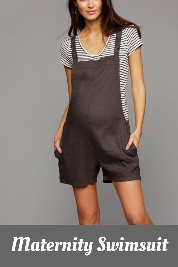 55eba6e3dbf85 Comfy tee underneath this cute maternity romper. Rock your summer pregnancy  with this look! #sponsored #maternity #babybump #romper #pregnancy #summer  # ...