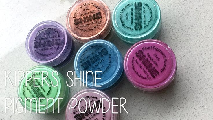 Kippers Shine Pearl Pigment Powder - Medium Technieken