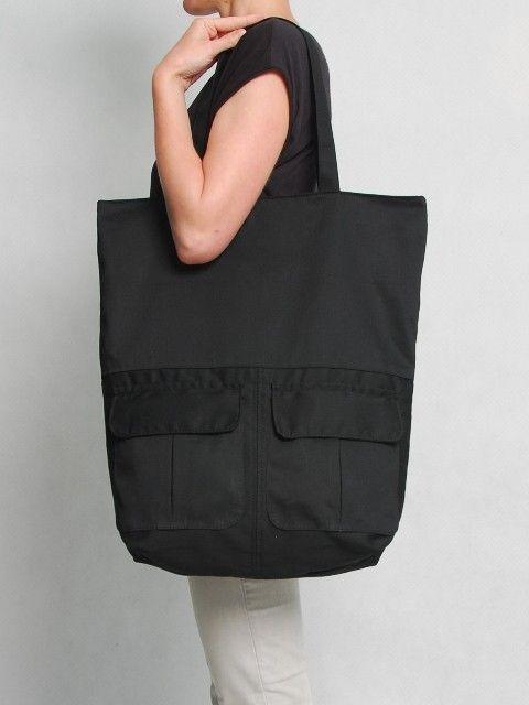 torby XXL - damskie-LDZ2 Black