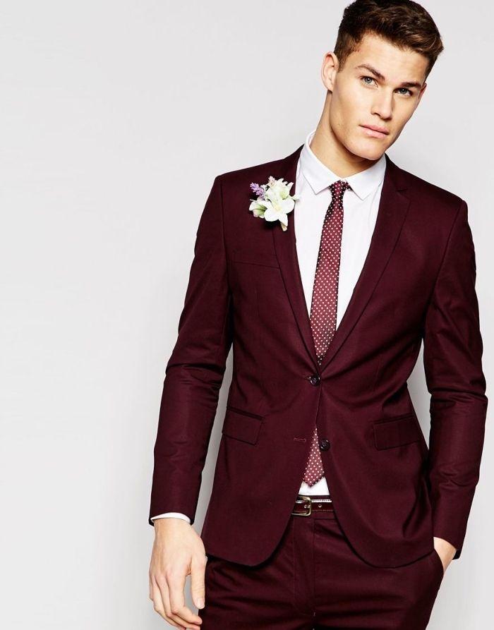 ▷ 1001 + modèles tendances pour mieux choisir son costume marié en ... f6975c7d56e