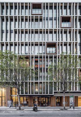 Ohla Eixample Hotel in Barcelona - e-architect