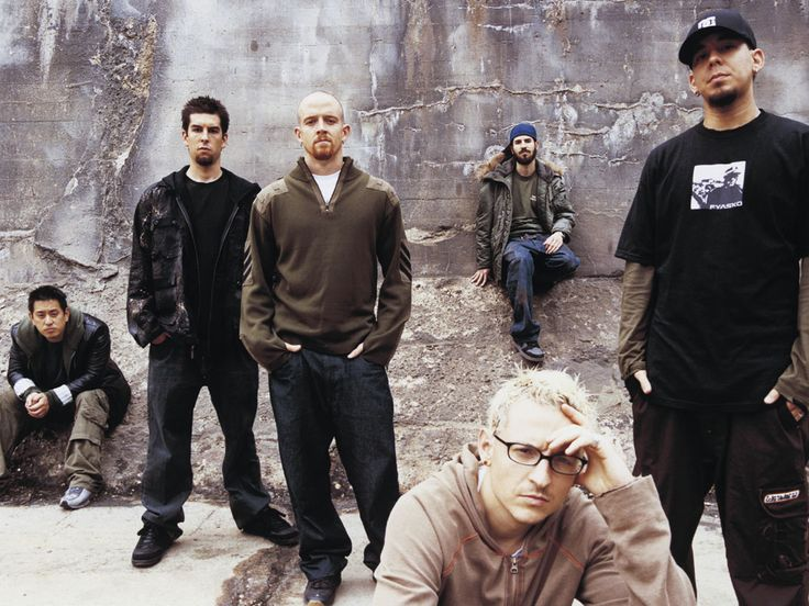 Linkin Park Chester Bennington Rob Bourdon Brad Delson Dave Farrell Joe Hahn Mike Shinoda