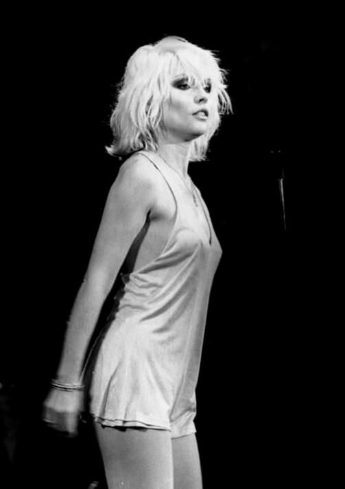 When I was 12 I wanted to grow to be Debbie Harry.