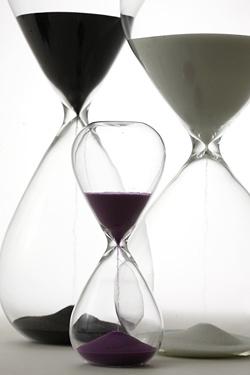 ガラス製 スナ式トケイ 30分計