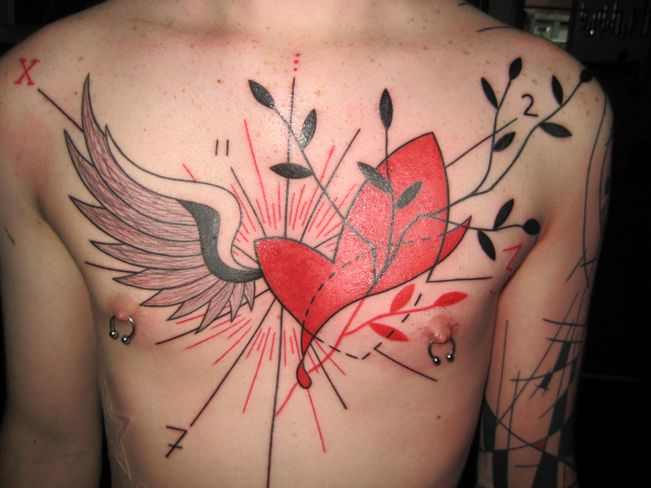 Y A N N — B L A C K T A TT OO If I ever get a tattoo, this is the idea I'm going after.
