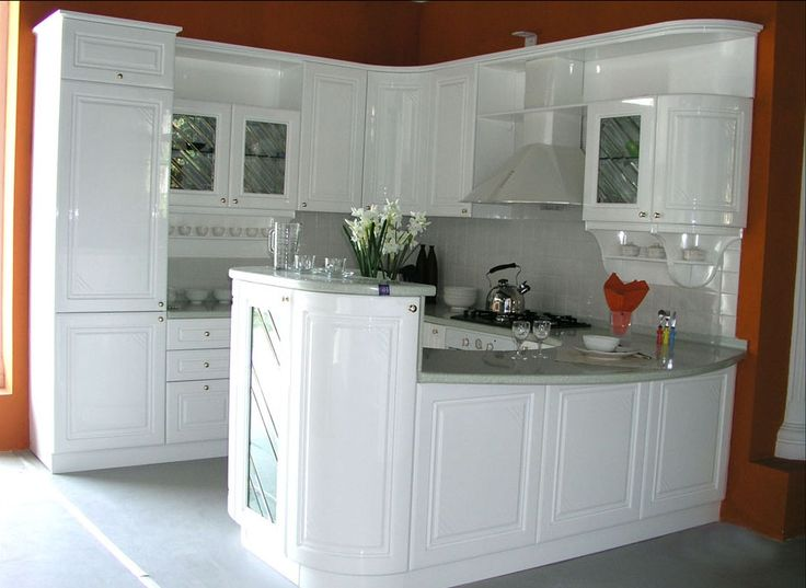 White Corner Kitchen Cabinet Sizes With Hood And Countertop