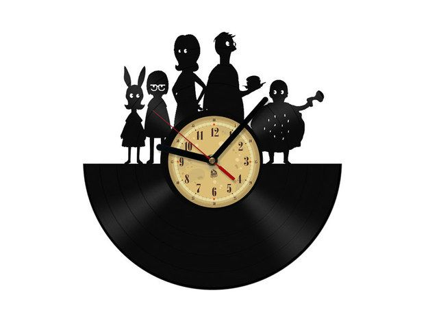 Belcher Family Vinyl Clock | 42 Utterly Perfect Gifts For The Binge-Watcher