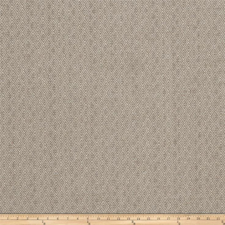 Vern Yip 03370 Jacquard Diamond Grey from @fabricdotcom  This jacquard fabric is perfect for revitalizing an old piece of furniture and updating with a new look. Create accent pillows and upholster furniture, headboards, poufs and ottomans. This fabric exceeds 51,000 double rubs.