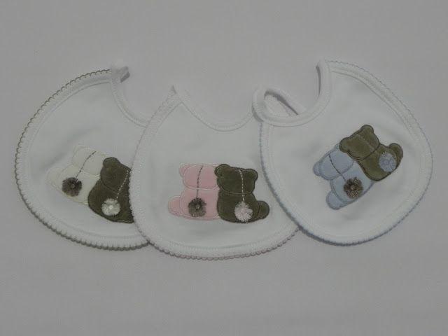 b e b e t e c a: UN POCO DE TODO... Baberos ideales para los primeros meses. bebetecavigo