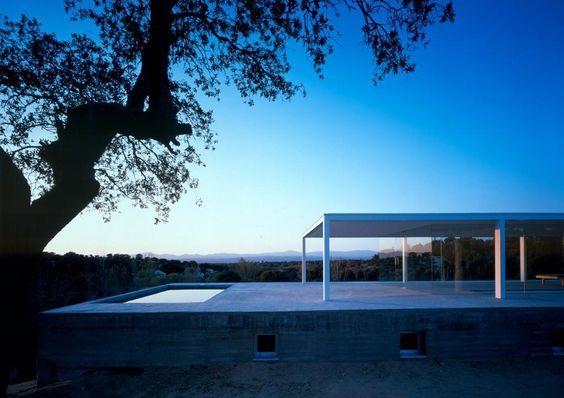 De Blas House by Alberto Campo Baeza as Architects: