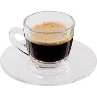 Termékleírás  2 db-os kávéscsésze készlet csészealjjal Üvegből készült. Magasság: 5,5 cm. Átmérő: 5 cm.