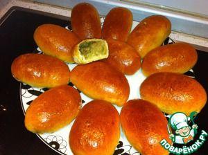 Рецепт: Нежные пирожки с картофелем и грибами