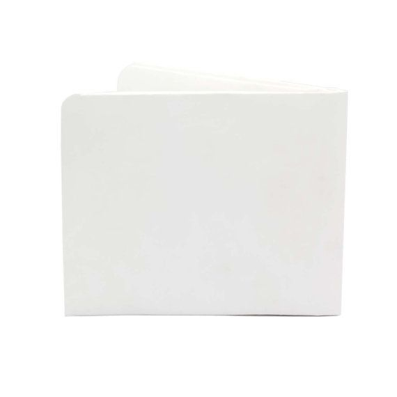 Paper-Thin Wallet Unisex for Men & Women - Solid White Design - Made in Tyvek - Eco-friendly and 100% Recyclable