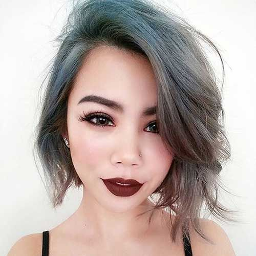 10 Best Ideas About Medium Asymmetrical Hairstyles On