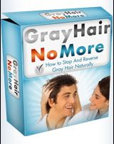 Gray Hair No More Gray Hair No More is a digital program that teaches you how to reverse your gray or white hair naturally - and uncover your natural hair color back.  This is the complete system that will help people searching for the complete remedy to their graying hair problem.   Gray Hair No More will... #GrayHairNoMore, #GrayHairNoMoreReview, #HairGraying, #LookingYoungerForMen, #MenLookingYounger, #ReverseYourGray